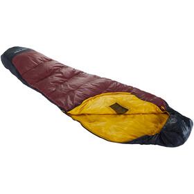 Nordisk Oscar +10° Mummy Sac de couchage L, rio red/mustard yellow/black